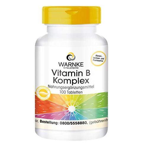 Warnke Vitalstoffe Vitamin B Komplex Tabletten
