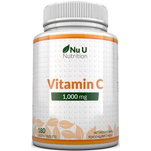 Nu U Nutrition Vitamin C Tabletten