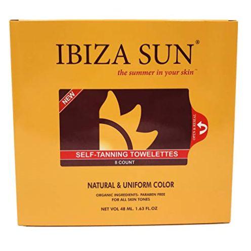 Ibiza Sun Organische Selbstbräunungstücher Natural