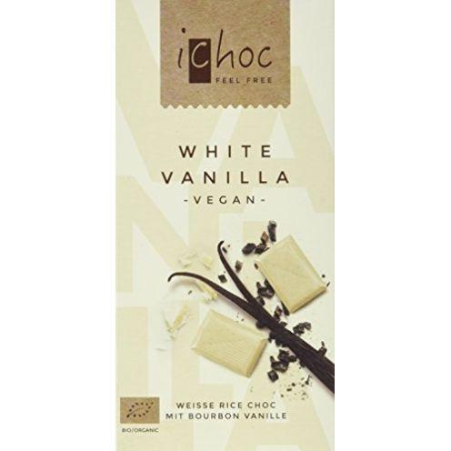 Vivani White Vanilla-Rice Choc Schokolade