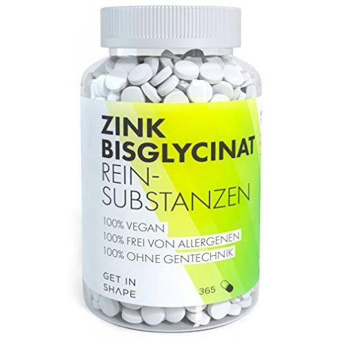 Get in Shape Zink Tabletten