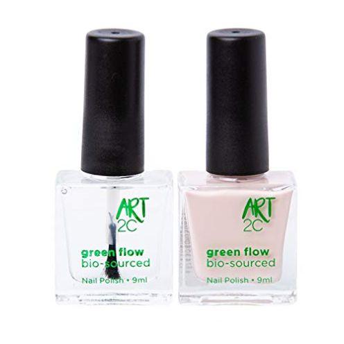 Art 2C 85 % Bio-sourced Vegan Double-Patented Ultra-Pure Nail Polish