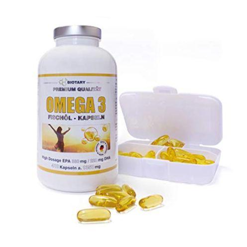 Biotary Omega-3 Fischöl Kapseln