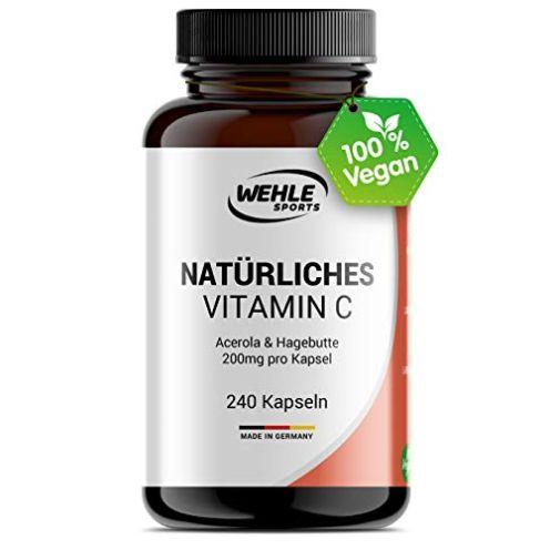 Wehle Sports Vitamin C Kapseln
