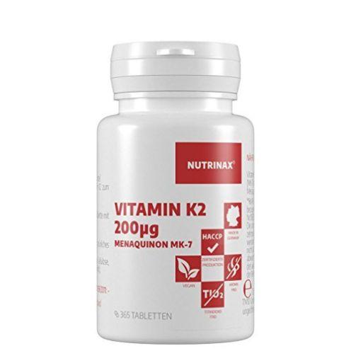 Nutrinax Vitamin K2 200 µg