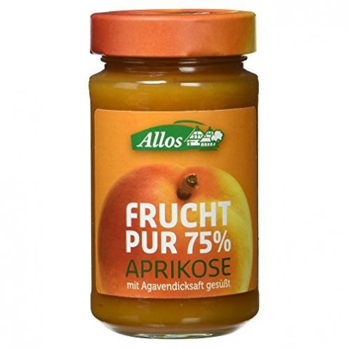 Allos Bio Frucht Pur 75% Aprikose