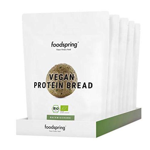 foodspring Veganes Proteinbrot