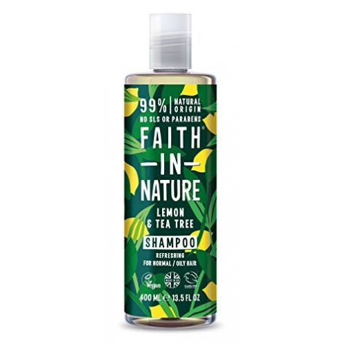 Faith in Nature Natürliches Zitrone & Teebaum Shampoo