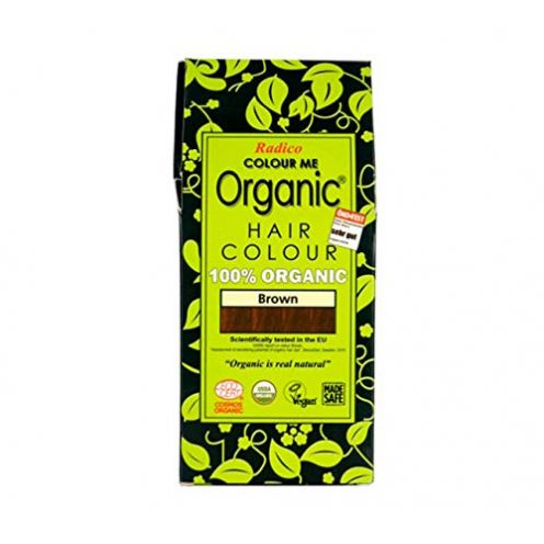 Radico Colour Me Organic Pflanzenhaarfarbe Braun