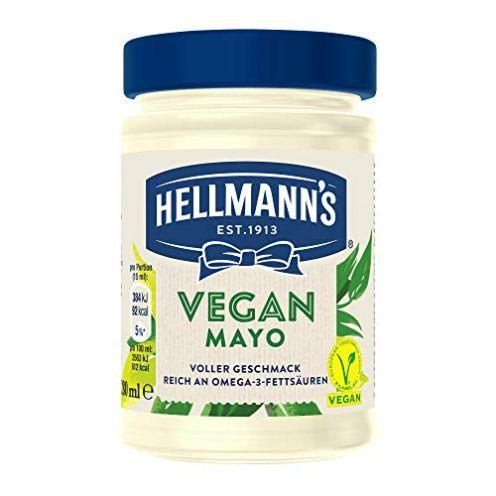 Hellmann's Vegan Mayonnaise Glas