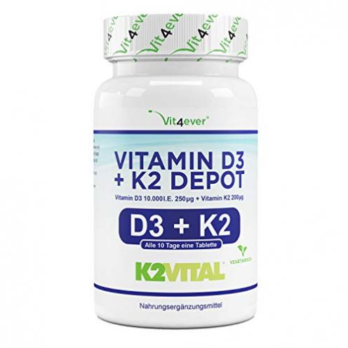 Vit4ever Vitamin D3 Tabletten