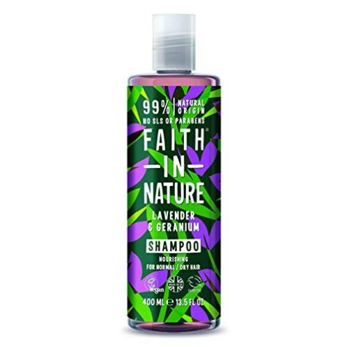 Faith in Nature Natürliches Lavendel & Geranie Shampoo