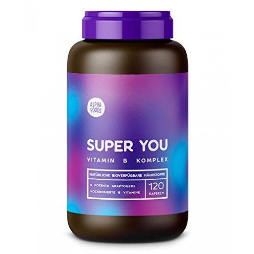 Alpha Foods Super You Vitamin B Komplex Kapseln