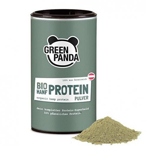Green Panda-Store Hanfproteinpulver Bio