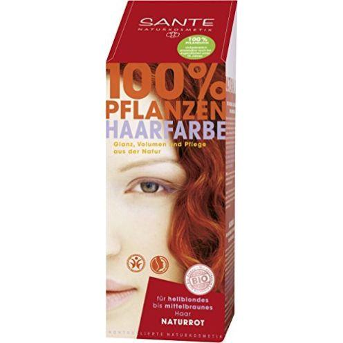Sante Pflanzen-Haarfarbe Pulver Naturrot