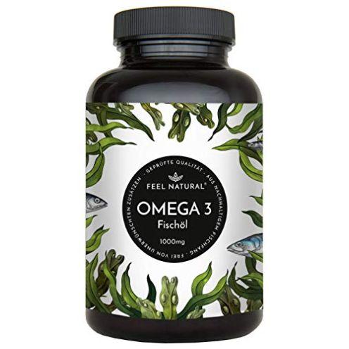 Feel Natural-Store Omega 3 Fischöl Kapseln