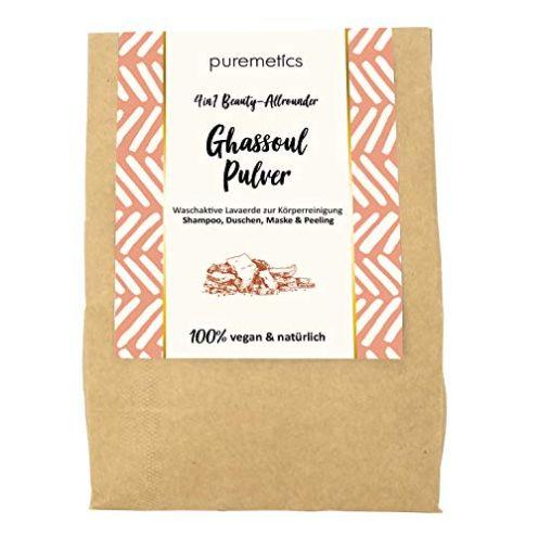 puremetics Zero Waste Ghassoul Lavaerde Pulver