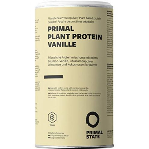Primal Pflanzliches Proteinpulver - Vanille Geschmack