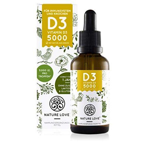 NATURE LOVE Vitamin D3