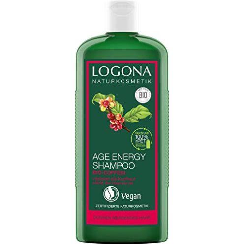 LOGONA Naturkosmetik Age Energy Shampoo Bio-Coffein