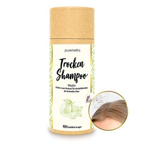 puremetics Zero Waste Trockenshampoo Mojito für brünettes Haar