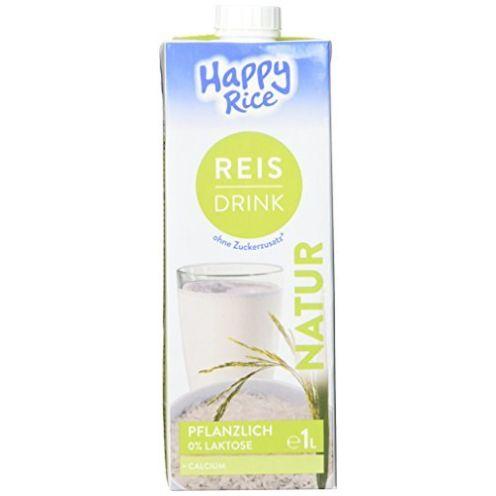 Happy Milchalternativen Reis Drink Natur