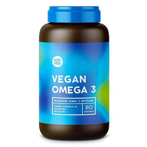 Alpha Foods Omega 3 Gelkapseln