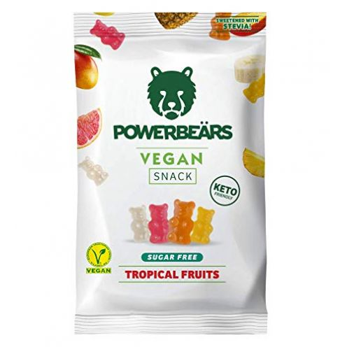 Powerbeärs Vegan Sugarfree - Vegane Gummibärchen