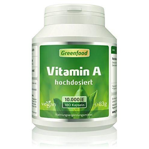 Greenfood Vitamin A 180 Vegi-Kapseln