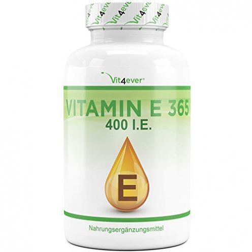 vit4ever Vitamin E 400 I.E. Nahrungsergänzungmittel