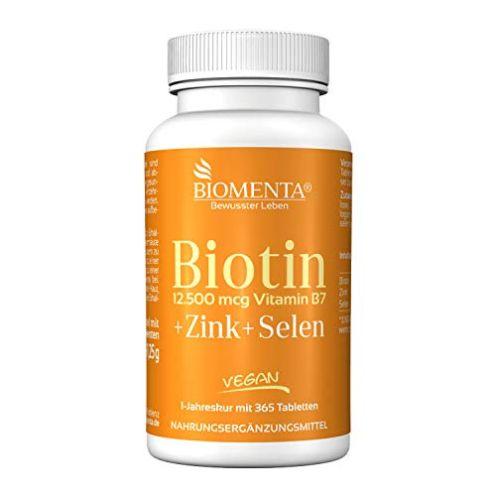 BIOMENTA Biotin hochdosiert