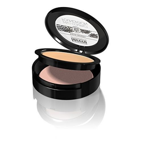 Lavera 2in1 Compact Foundation Makeup Farbe Ivory