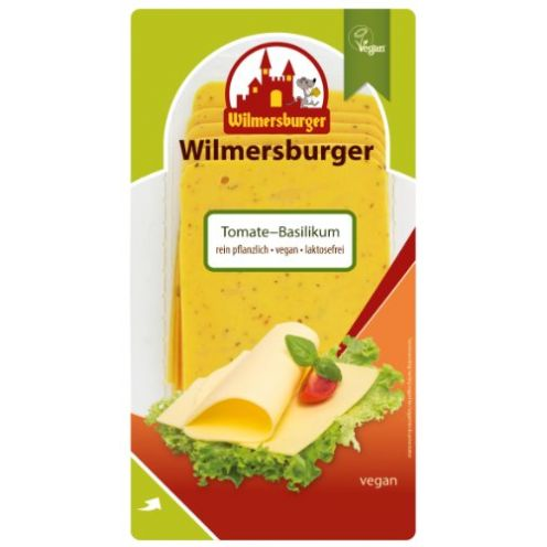 Wilmersburger Käsescheiben Tomate Basilikum