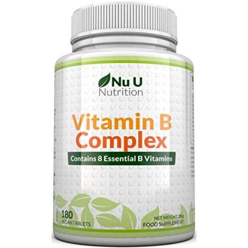 Nu U Nutrition Vitamin B-Komplex Tabletten