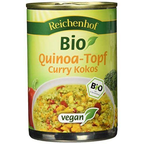 Reichenhof Quinoatopf Curry Kokos
