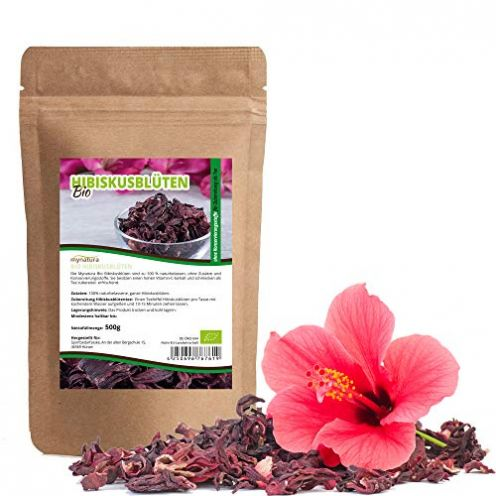 Mynatura Bio Hibiskusblüten 500g