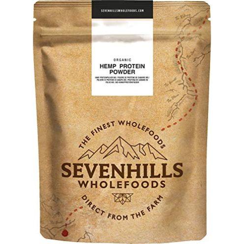 Sevenhills Wholefoods Roh Hanf-Proteinpulve