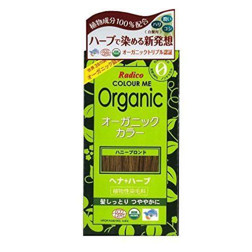 Radico Colour Me Organic Pflanzenhaarfarbe Honig-Blond