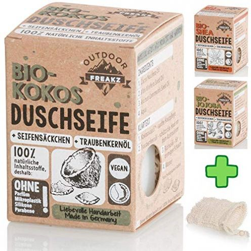 Outdoor Freakz Bio-Kokos Duschseife