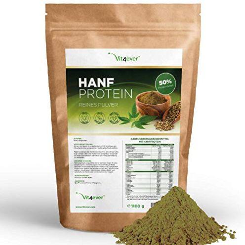 Vit4ever Hanfprotein Pulver - 1100 g