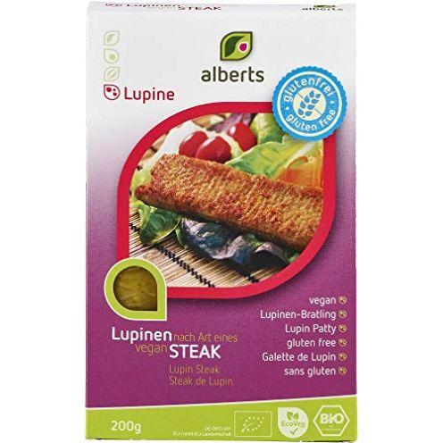 Alberts Lupinen Lupinen Steak glutenfrei