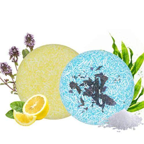 Lemon & Seaweed Vegan Shampoo Bar