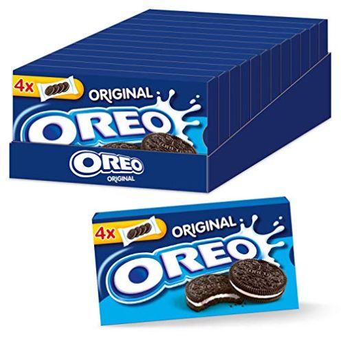 OREO Original Kakao Doppelkeks gefüllt mit veganer Crème-Füllung