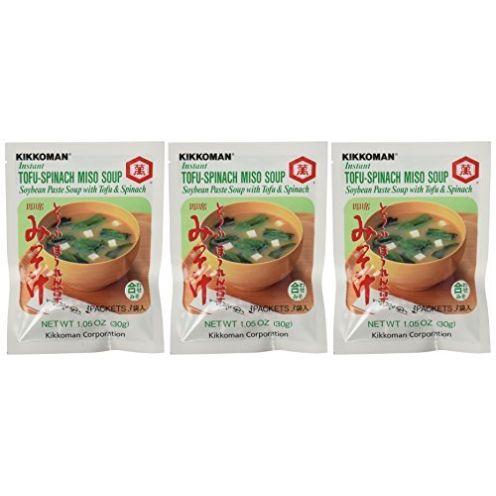Kikkoman - Instant Tofu-Spinach
