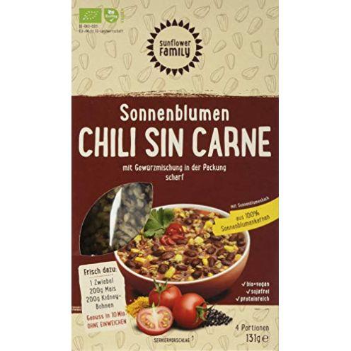 Sunflower Family Sonnenblumen Chili sin Carne mit Gewürzmischung