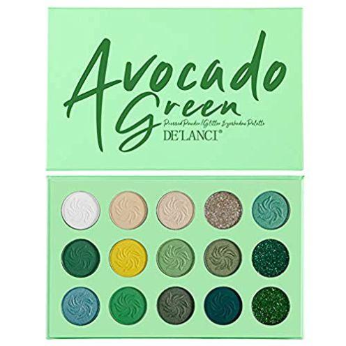 De´Lanci Avocado-grüne Lidschattenpalette