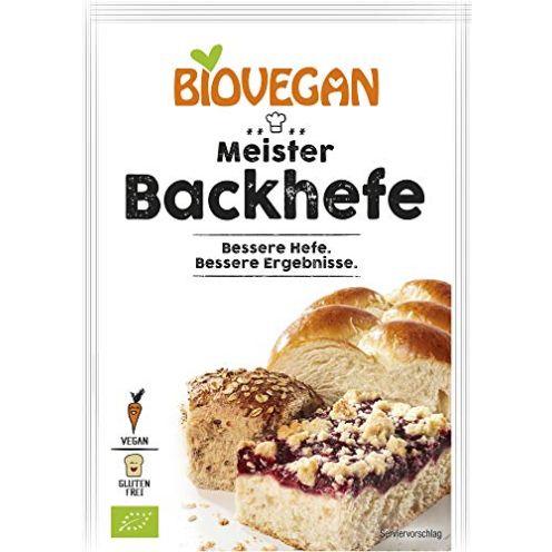 BIOVEGAN Bio Meister Backhefe