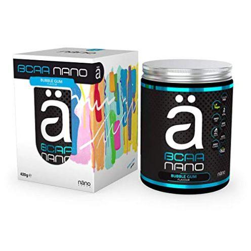 Nanosupps NANO BCAA Pulver Bubblegum