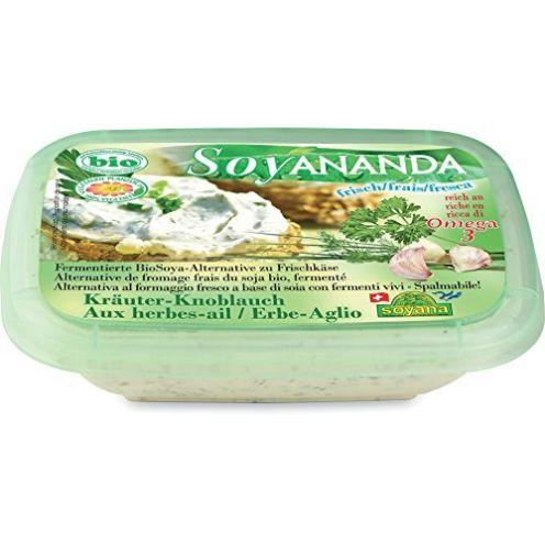 Soyana Soja-Frischkäse-Ersatz mit Kräutern & Knoblauch