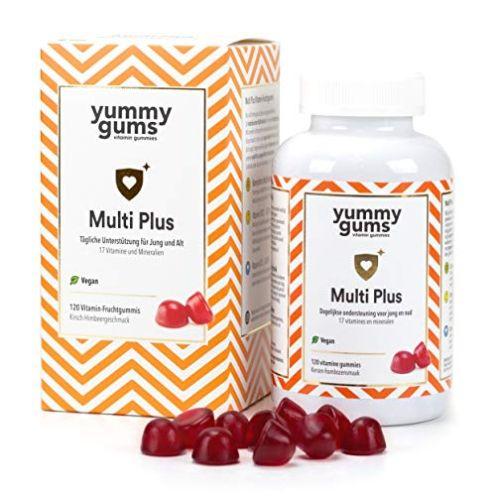 Yummygums Leckere Multivitamin Gummibärchen